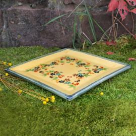 Terre e Provence Square Serving Plate - Large