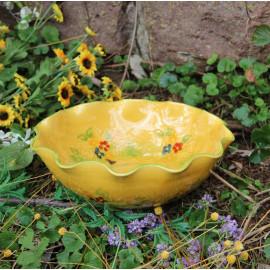 Terre e Provence Large Undulating Bowl