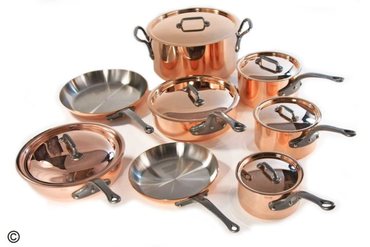 Copper Cookware Sets