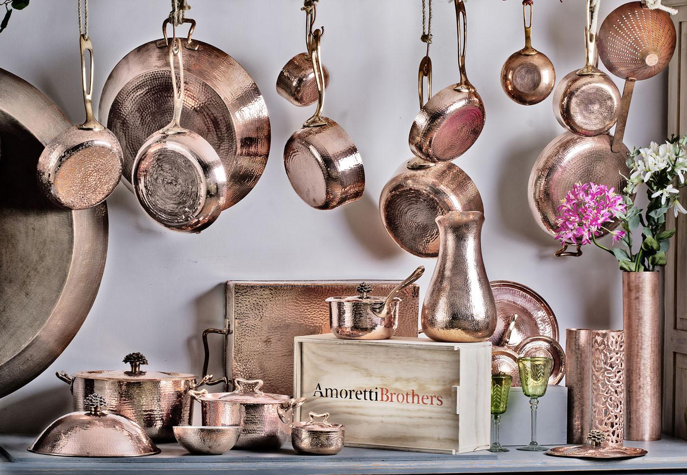 Amoretti Brothers Copper Cookware