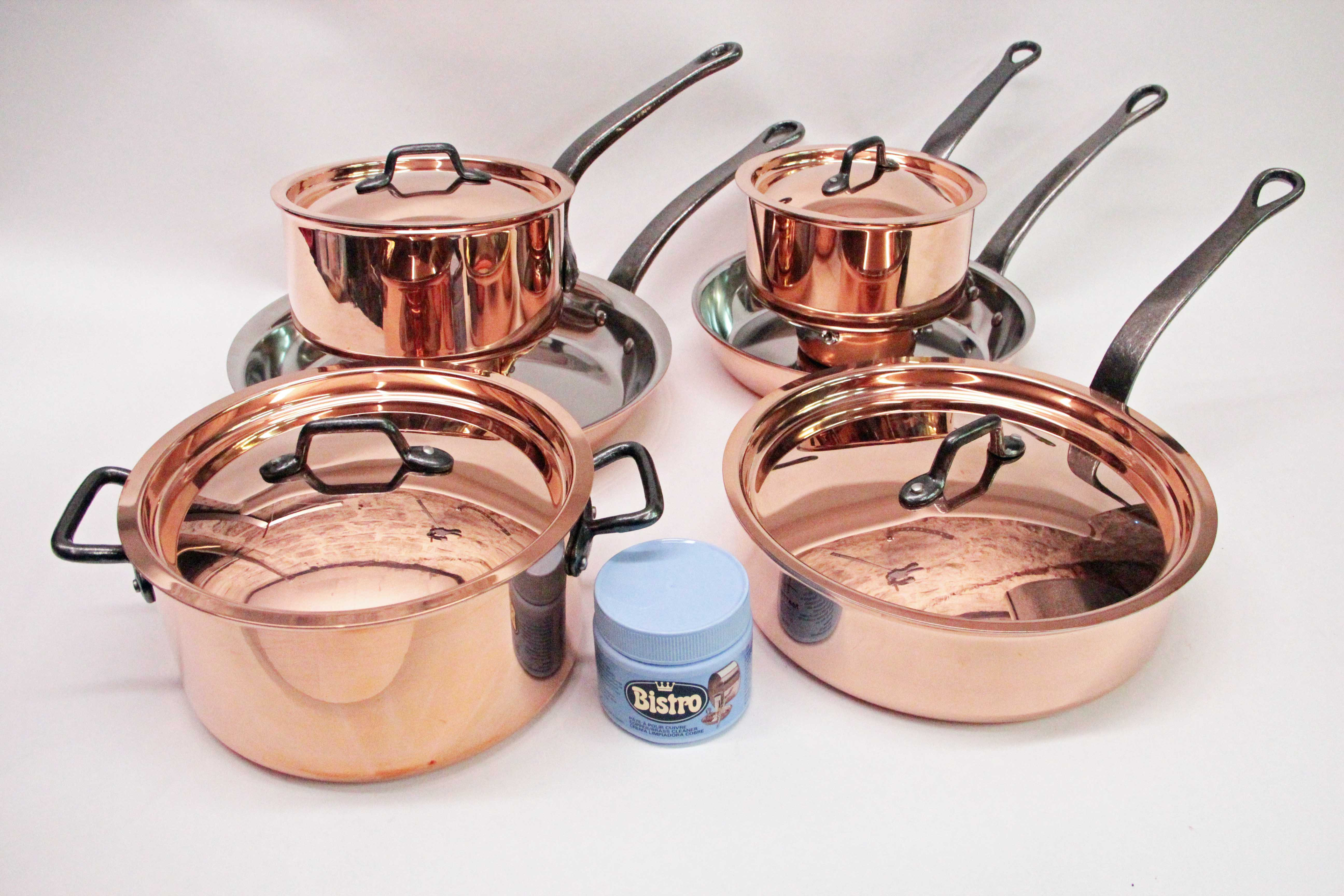 Matfer-Bourgeat 10pc. Copper Set