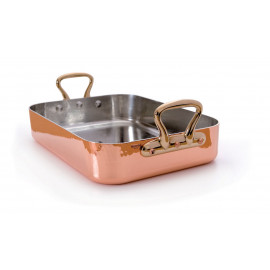 "Mauviel Roasting Pan - 24"" - Rectangular"