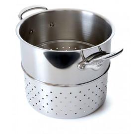 "M'cook Mauviel Pasta Insert - 9.5"""