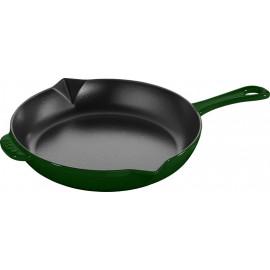 """Staub Round Frying Pan - Basil  10"""""""