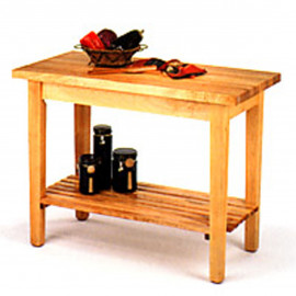 """John Boos Classic Country Work Table 48"""""""