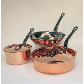 Bourgeat 5pc. Copper Set