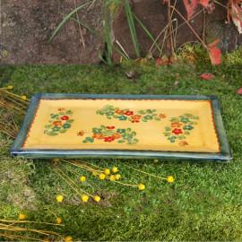 Terre e Provence Square Serving Plate - Small