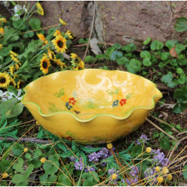 Terre e Provence Large Undulating Bowl